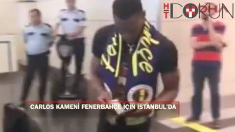 Carlos Kameni İstanbul'da