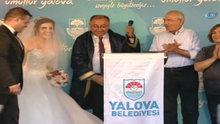 CHP Genel Başkanı Kemal Kılıçdaroğlu, 'Adalet Yürüyüşü'nde nikah şahitliği yaptı