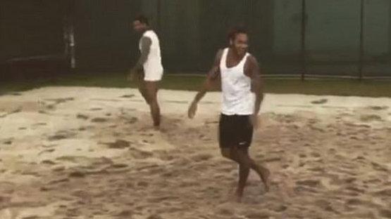 Neymar ve Dani Alves şov yaptı