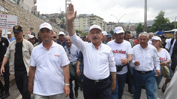Kemal Kılıçdaroğlu yürüyüşünün 21. gününde konuştu