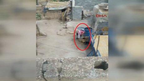 Çocuğuna işkence yapan baba tutuklandı