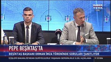 Beşiktaş Pepe ile 2 yıllık sözleşme imzaladı