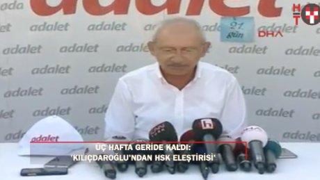 """Kılıçdaroğlu: """"Evrensel adalet anlayışını hepimizin birlikte kabul etmesi lazım"""""""