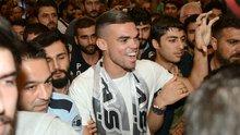 Beşiktaş'ın yeni transferi Pepe, İstanbul'da