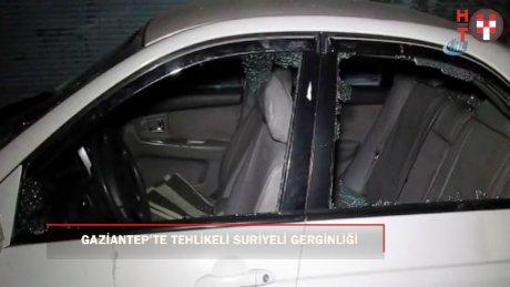 Türk ve Suriyeliler arasında tehlikeli gerginlik: 3 yaralı