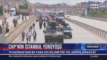 """Kılıçdaroğlu'nun """"Adalet Yürüyüşü""""nde üst düzey güvenlik önlemleri"""