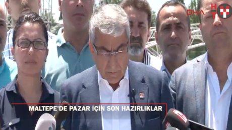 CHP İstanbul İl Başkanı'ndan 'Pazar' mesajı