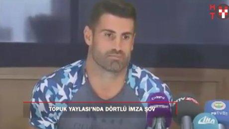 Fenerbahçe'den toplu imza töreni
