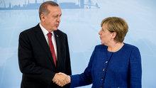 Cumhurbaşkanı Erdoğan ile Merkel görüştü