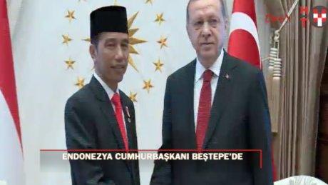 Endonezya Cumhurbaşkanı Beştepe'de