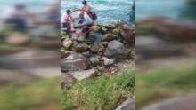 Çengelköy sahilinde 15 yaşında bir genç akıntıya kapıldı