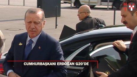 Erdoğan'dan G20'de yoğun mesai