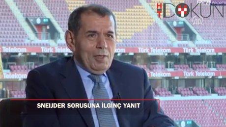 Başkan Özbek'ten Sneijder sorusuna yanıt