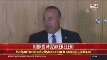 Kıbrıs müzakerelerinden sonuç çıkmadı!