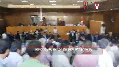 Kelepçe takılmasını reddeden Demirtaş, duruşmaya katılmadı