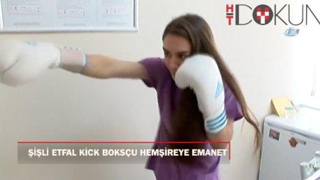 Kick Boksçu hemşire dünya şampiyonluğuna hazırlanıyor