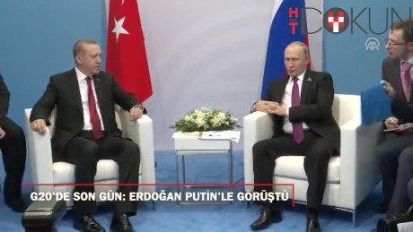 G20'de son gün: Erdoğan Putin'le görüştü