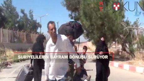 Bayramdan dönen Suriyeli sayısı 68 bini buldu