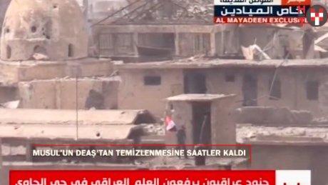 Musul'da askerlerden DEAŞ'a karşı zafer kutlaması