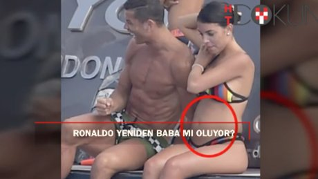 Ronaldo'nun İbiza tatilinde dikkat çeken detay