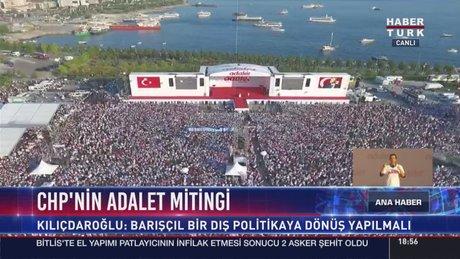 """Kılıçdaroğlu, 10 maddelik """"Adalet Çağrısı"""" metnini okudu"""