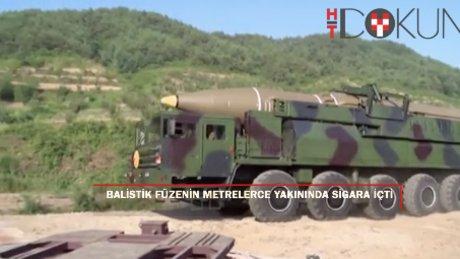 Kim Jong-Un'dan balistik denemede tehlikeli tiryakilik