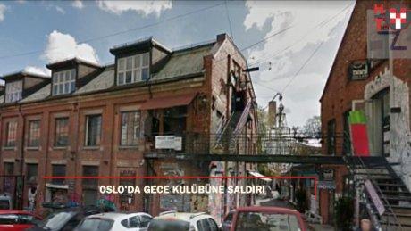 Oslo'da gece kulübünde silahlı saldırı