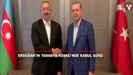 Cumhurbaşkanı Erdoğan'ın Tarabya'da kabul günü