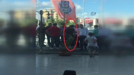 Lübnanlı tacizciye meydan dayağı kamerada