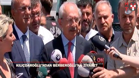 Kılıçdaroğlu Berberoğlu'nu cezaevinde ziyaret etti