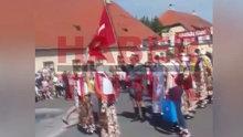 Hırvatistan'ta Türk bayrağına saldırı