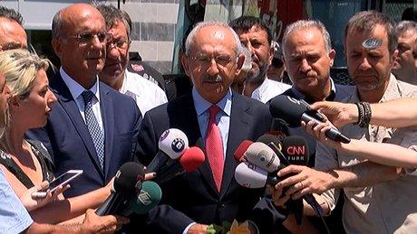 Kılıçdaroğlu'ndan Enis Berberoğlu ziyareti sonrası açıklama