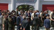 Başbakan Binali Yıldırım, 15 Temmuz anması için Edirnekapı Şehitliği'nde