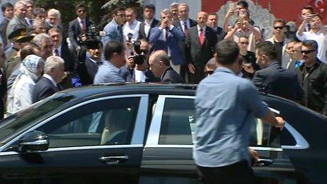 Cumhurbaşkanı Erdoğan, 15 Temmuz Şehitliği'ni ziyaret etti