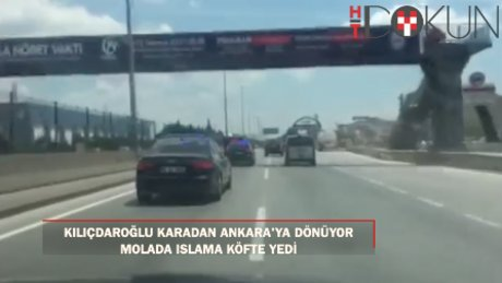 Kılıçdaroğlu karayoluyla Ankara'ya dönüyor