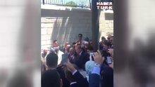 Erdoğan, 15 Temmuz şehitlerinin mezarı başında Kur'an okudu!