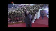 Kuzey Kore, kıtalararası füze denemesini konserle kutladı