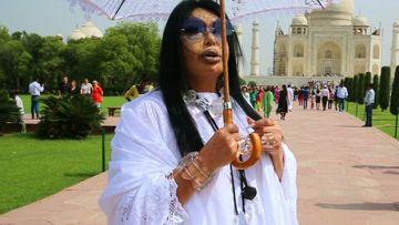 Bülent Ersoy Tac Mahal'i ziyaret etti!
