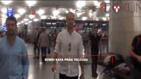 Semih kaya İstanbul'a veda etti