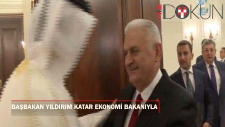 Başbakan Yıldırım, Katarlı bakanı kabul etti