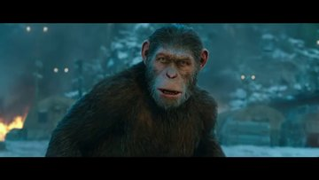 Maymunlar Cehennemi 3: Savaş - fragman