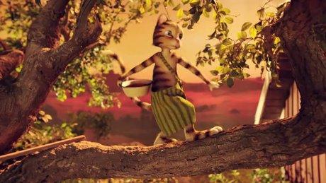 Fırıldak Kedi Findus - fragman