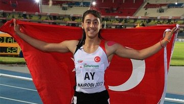 Mizgin Ay 100 metre dünya şampiyonu oldu