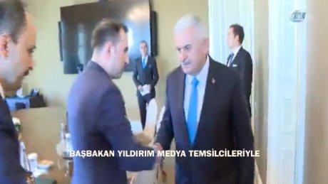 Başbakan Yıldırım, medya temsilcileriyle buluştu