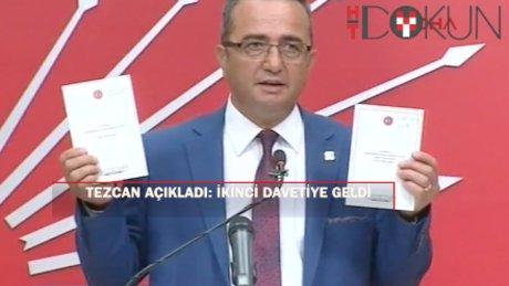 Tezcan'dan 'iki davetiye' açıklaması