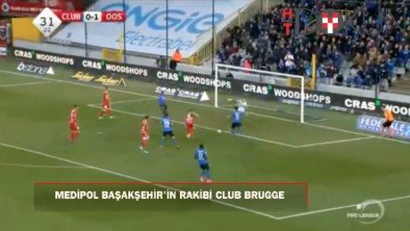 Medipol Başakşehir'in rakibi: Club Brugge