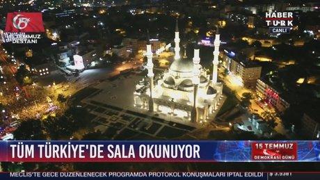 Tüm Türkiye'de Sala okundu!