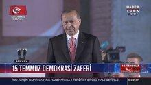 Cumhurbaşkanı Erdoğan Meclis'teki törende konuştu