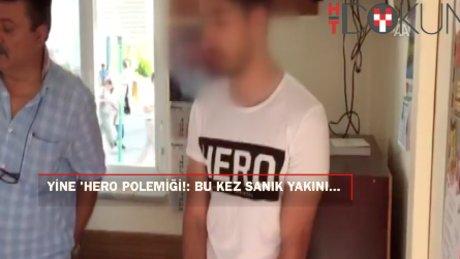 """Başkent'te bu kez sanık yakını """"HERO"""" tişörtü ile girmeye çalıştı"""