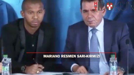 Mariano imzayı attı